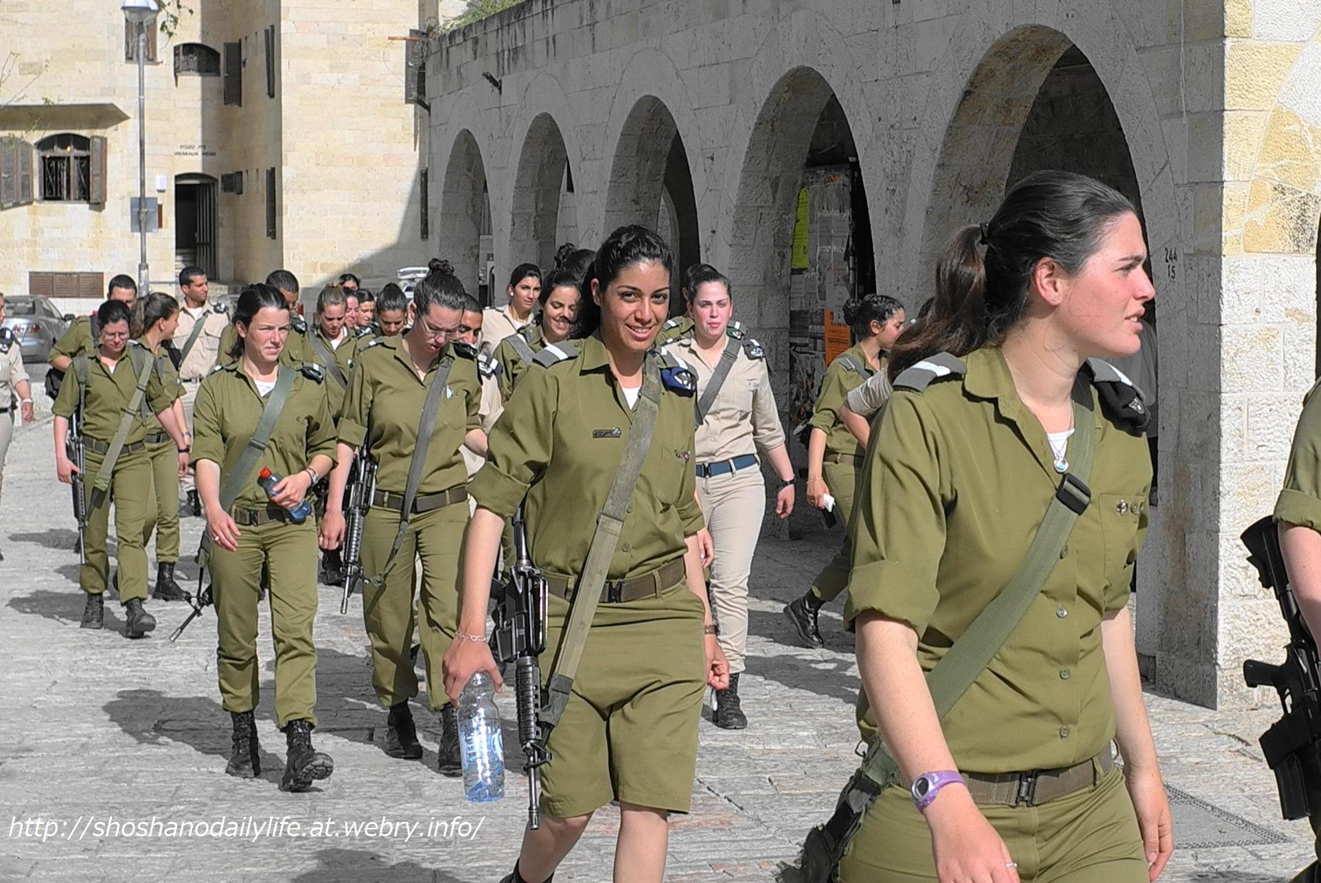 イスラエル 女性兵士 2